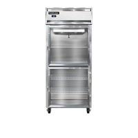 Continental 1RX-GD-HD Glass Half Door Extra Wide Reach In Refrigerator 36.25