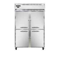 Continental DL2RF-SA-PT-HD Stainless Steel Exterior Designer Line Dual Temperature Half Door Pass Through Refrigerator/Freezer 52