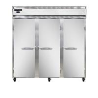 Continental DL3RRF-SA-PT Stainless Steel Exterior Designer Line Dual Temperature Pass Through Refrigerator/Freezer 78