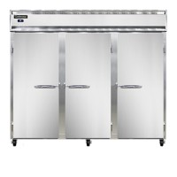 Continental DL3RRFE-PT Designer Line Extra Wide Dual Temperature Pass Through Refrigerator/Freezer 85.5