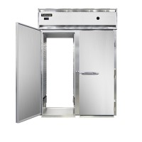 Continental DL2W-SA-PT-HD Stainless Steel Exterior Designer Line Half Door Pass Through Warmer 52