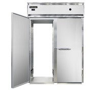Continental DL2WI-SA-RT-E Stainless Steel Exterior Designer Line Extra High Roll Thru Warmer 68.5