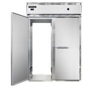 Continental DL2WE-SA-PT-HD Stainless Steel Exterior Designer Line Half Door Extra Wide Pass Through Warmer 57