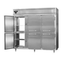 Continental DL3W-SA-PT-HD Stainless Steel Exterior Designer Line Half Door Pass Through Warmer 78