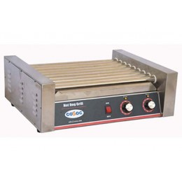 Cozoc HDG5001-9 Hot Dog Grill with 9 Rollers, 820 Watts