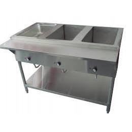 Cozoc ST5005E-3 Steamer Table, 47