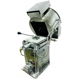 Cretors NEW Infrared Gas Burner SS Thunderkettle Equipped for Pump 60oz Digital Control Assembled on Table R/H Dump LP Gas 120V