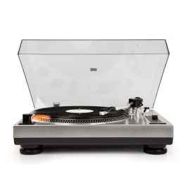 Crosley C100-SI Turntable - Silver