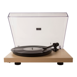 Crosley C10A-NA Turntable with ProJect Tonearm Natural