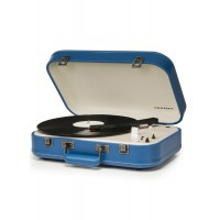 Crosley CR6026A-BL Coupe Bluetooth Turntable Blue