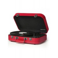 Crosley CR6026A-RE Coupe Bluetooth Turntable Red