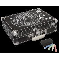 Crosley CR8005D-CB Cruiser Deluxe Bluetooth Turntable Chalkboard