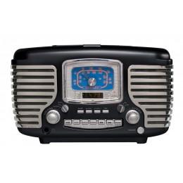 Crosley CR612-BK Corsair Radio Black