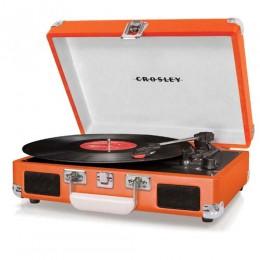 Crosley CR8005D-OR Cruiser Deluxe Turntable Orange Vinyl