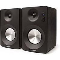 Crosley S100A-BK C-Series Bluetooth Enabled Powered Speakers