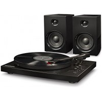 Crosley T100A-BK Turntable System Black