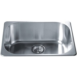 Dawn 3233 Stainless Steel Top Mount Bar Sink