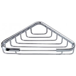 Dawn 6802 Chrome Triangle Soap Basket, 6x6