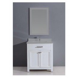 Dawn AAMC302135-01 30in Milan Style Vanity Cabinet - Pure White