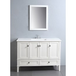 Dawn AARS-4801 Vintage 48 in Style Vanity Single Sink and Marble Top