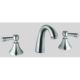 Dawn AB12 1018C Chrome 3 Hole Widespread Lavatory Faucet/Lever Handles