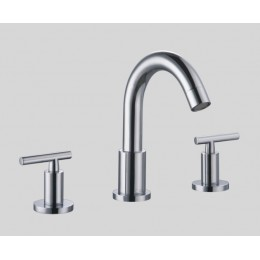 Dawn AB16 1513C 3-Hole Widespread Lavatory Faucet with Lever Handles