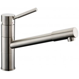 Dawn AB33 3241BN Brushed Nickel Single Lever Pull Out Faucet