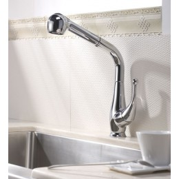 Dawn AB50 3079C Chrome Single Lever Pull Out Spray Faucet