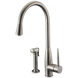 Dawn AB50 3178BN Brushed Nickel Single Lever Faucet with Side Spray