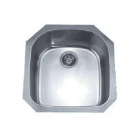 Dawn ASU101 Single Bowl Sink with Squared Undermount