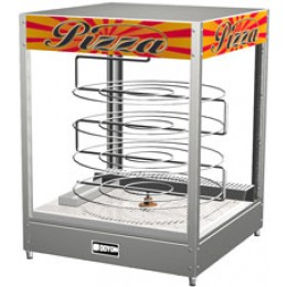 Doyon DRPR4 Tabletop Pizza Merchandiser Warmer with Four Tiered 20