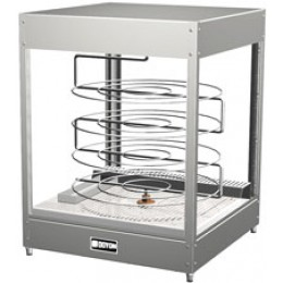 Doyon DRPR4S Tabletop Pizza Merchandiser Warmer with Four Tiered 20