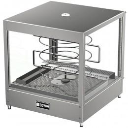 Doyon DRPR3 Tabletop Pizza Merchandiser Warmer with Three Tiered 18