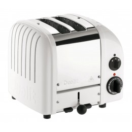 Dualit 27153 Classic 2-Slice Toaster - White