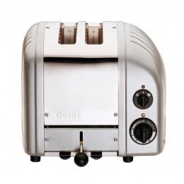Dualit 27162 NewGen 2-Slice Toaster - Metallic Silver