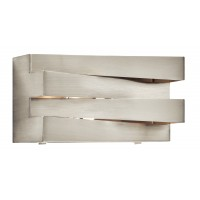 Elan 83112 Massimik Collection Brushed Nickel Wall Bath Light