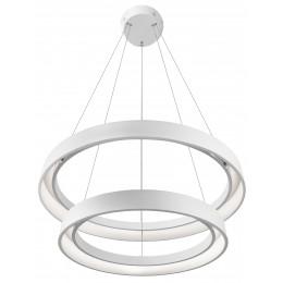 Elan 83199 Fornello Collection Textured White LED Pendant