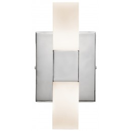 Elan 83267 Tvill Collection Chrome LED Wall Sconce
