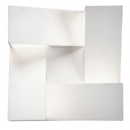 Elan 83366 Javan Collection White LED Wall Sconce