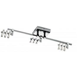 Elan 83384 Velese Collection Chrome LED 3 Light Rail