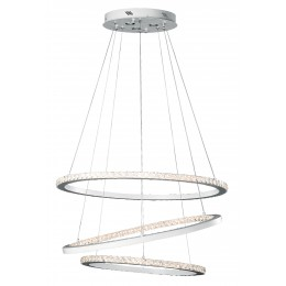 Elan 83405 Allos Collection Matte White LED Pendant