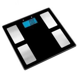 Escali USHM180G Glass Body Fat, Water, Muscle Mass Digital Scale