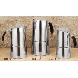 European Gift 121-10 Omnia Stove Top Espresso Pot by Ilsa 10-Cup