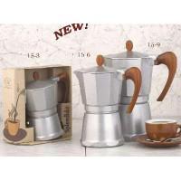 European Gift Aluminum Stove Top Espresso Maker
