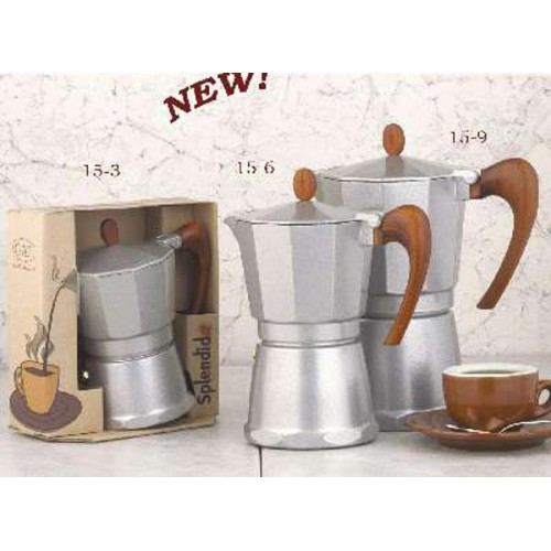 Stovetop Coffee Maker Gift : European Gift Aluminum Stove Top Espresso Maker