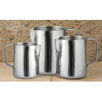 European Gift 30 Stainless Steel Frothing Pitcher 20 oz