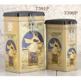 European Gift 7391P Large Rectangular Storage Canister