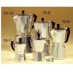 European One Cup Coffee Maker : European Gift 10-3 Aluminum Stove Top Espresso Maker 3 Cup
