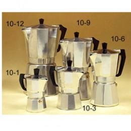 European Gift 10-1 Aluminum Stove Top Espresso Maker 1 Cup
