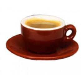 European Gift 020 Italian Cafe Style Espresso Cup-Saucer-Mocha-2.5oz